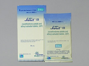 JUNEL 1 MG-20 MCG TABLET