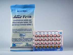 JUNEL FE 1.5 MG-30 MCG TABLET