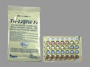 TRI-LEGEST FE-28 DAY TABLET