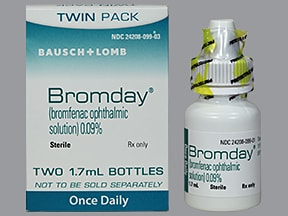 BROMDAY 0.09% EYE DROP TWINPAK
