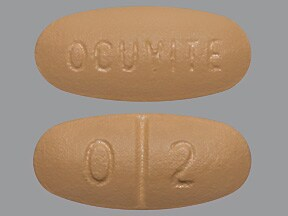 OCUVITE WITH LUTEIN TABLET