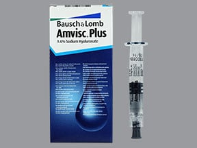 AMVISC PLUS 16 MG/ML SYRINGE