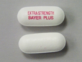 BAYER PLUS 500 MG CAPLET