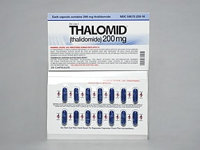 THALOMID 200 MG CAPSULE