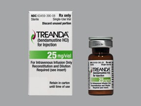 TREANDA 25 MG VIAL