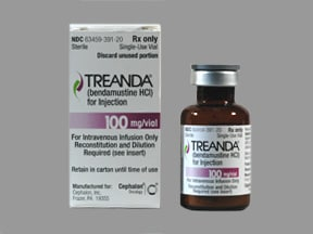 TREANDA 100 MG VIAL