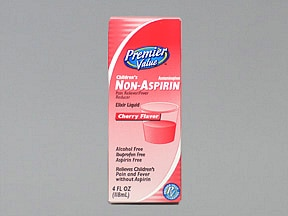 CHILD NON-ASPIRIN 160 MG/5 ML