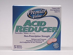 PV ACID REDUCER 75 MG TABLET