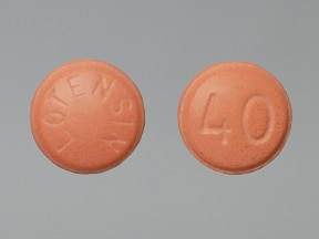 LOTENSIN 40 MG TABLET