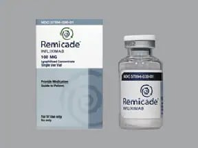REMICADE 100 MG VIAL