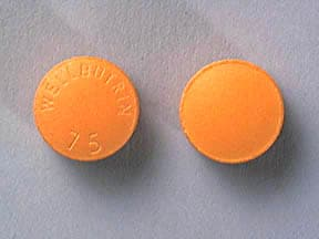 WELLBUTRIN 75 MG TABLET