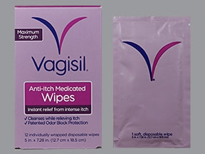 VAGISIL ANTI-ITCH WIPES