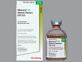 ALBUMINAR-25 IV SOLUTION