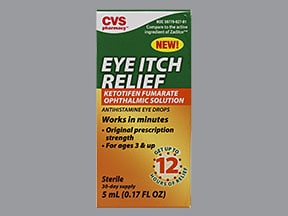 CVS EYE ITCH RELIEF 0.025% DRP