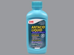 CVS ANTACID-SIMETHICONE LIQUID