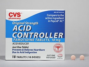 CVS ACID CONTROLLER 10 MG TAB