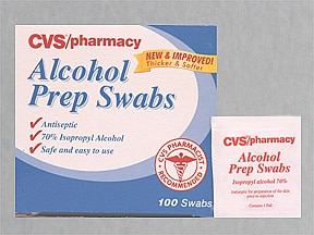 CVS ALCOHOL SWABS