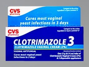 CVS 3-DAY VAGINAL CREAM