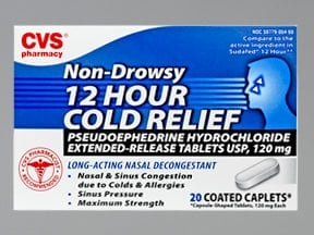 CVS 12HR COLD RELIEF CAPLET