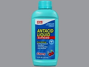 CVS ANTACID SUPREME LIQUID