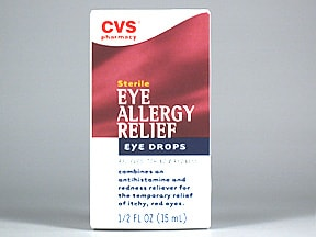 CVS EYE ALLERGY RELIEF EYE DRP
