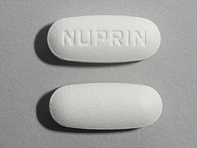 what does prescription ibuprofen look like