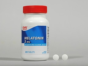 CVS MELATONIN 3 MG TABLET