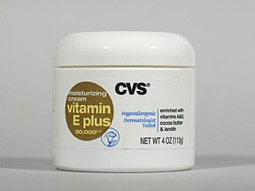 CVS VITAMIN E PLUS CREAM