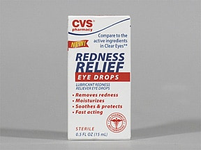 CVS REDNESS RELIEF EYE DROPS
