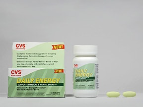 CVS DAILY ENERGY TABLET