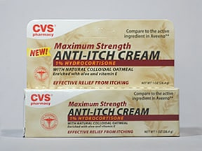CVS ANTI-ITCH 1% CREAM