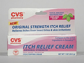 CVS ITCH RELIEF CREAM