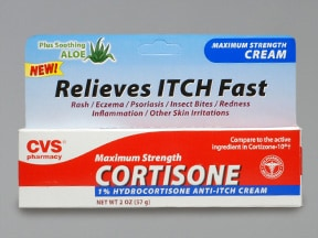 CVS CORTISONE 1% CREAM