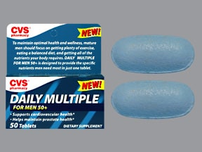 CVS DAILY MULTIPLE VITAMIN TAB