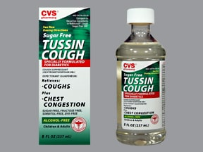CVS TUSSIN COUGH LIQUID