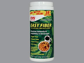 CVS EASY FIBER POWDER