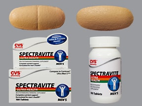 CVS SPECTRAVITE MEN'S TABLET