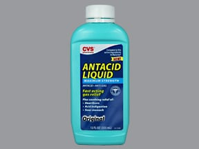CVS ANTACID-ANTIGAS MAX STR LQ