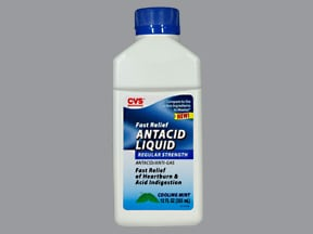 CVS ANTACID-ANTIGAS LIQUID