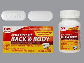 CVS BACK & BODY PAIN RLF CPLT