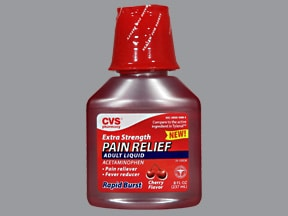 CVS PAIN RELIEF ADULT LIQUID