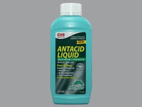 CVS ANTACID PLUS ANTI-GAS LIQ