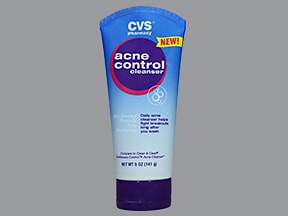 CVS ACNE CTRL CLEANSE 10 % CRM