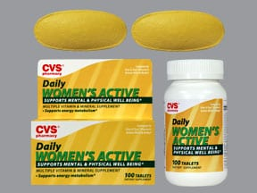 CVS WOMEN'S ACTIVE TABLET