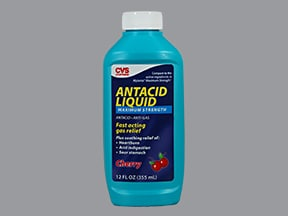 CVS ANTACID MAX STRENGTH LIQ