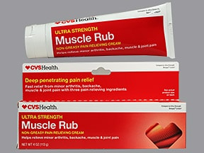 CVS MUSCLE RUB CREAM