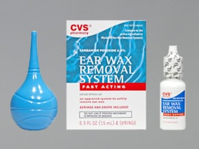 CVS EAR WAX REMOVAL KIT
