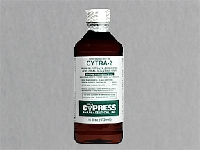 CYTRA-2 ORAL SOLUTION