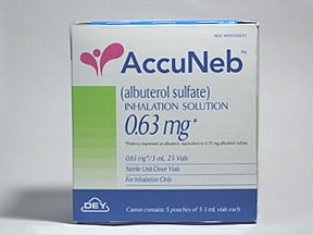 ACCUNEB 0.63 MG/3 ML INH SOLN