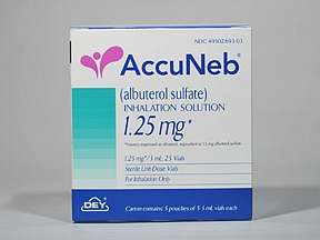 ACCUNEB 1.25 MG/3 ML INH SOLN